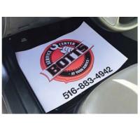 Auto Floor Protective Paper Mats - Full Color Imprint
