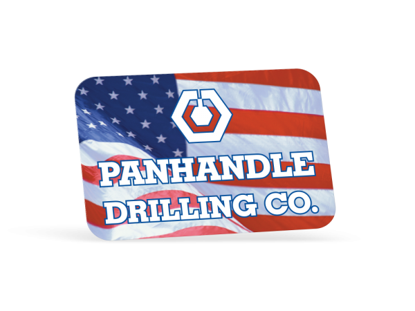 Hard Hat Decals - Full Color Print, Rectangle 1-3/4in x 2-5/8in