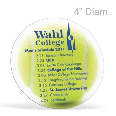 Circle Maxi Magnets -  Digital Full Color Print,   4in Diameter