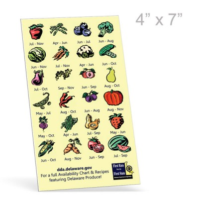 Rectangle Maxi Magnets -  Digital Full Color Print,  4in x 7in