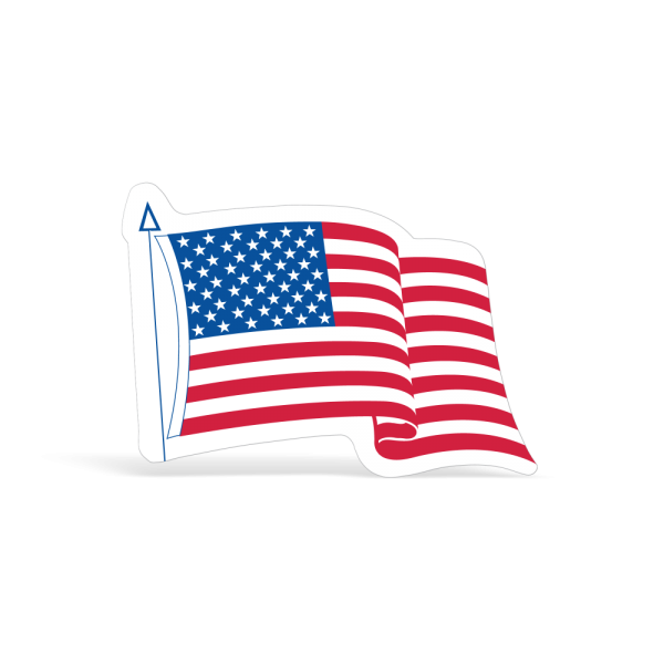 American Flag Decal USA Sticker
