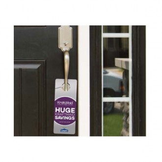 Door Hangers, 2-sided Digital Four Color Print - 3-1/4in x 8in