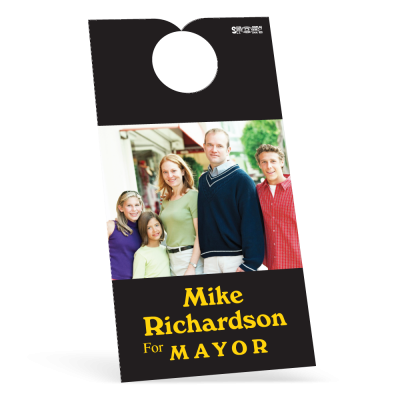 Door Hangers, 1-sided Digital Four Color Print - 3-1/2in x 6-3/4in